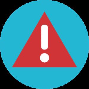 Agregar una alerta en caso de error> CreaZo