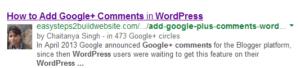 Cómo configurar el marcado de autoría de Google+ verificado en WordPress