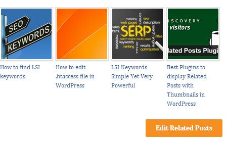Cómo mostrar los posts relacionados con las miniaturas en WordPress sin ningún tipo de plugin