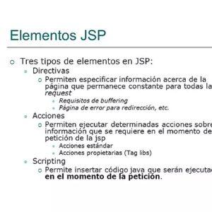 Acciones JSP – Páginas del Servidor Java
