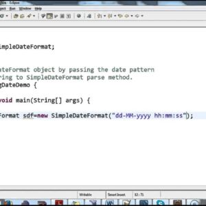 Convierte String hasta la fecha en Java