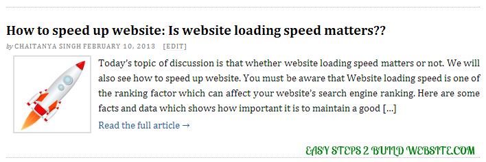 Publicar extractos en temas de WordPress