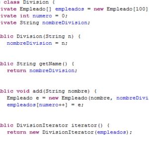 Iterador de Java con ejemplos