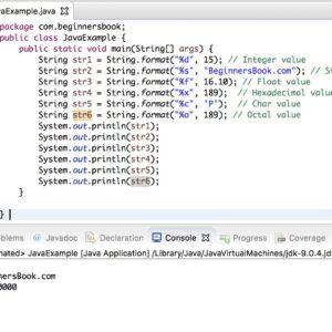 Método de Java String format() explicado con ejemplos