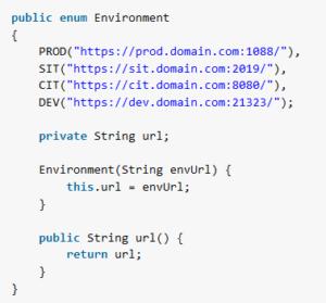 Tutorial de Java Enum con ejemplos