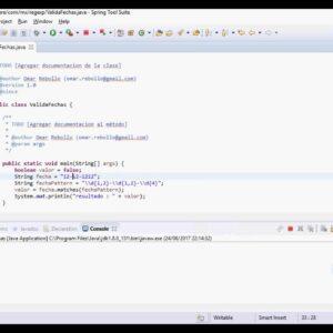 Validación de la fecha en Java